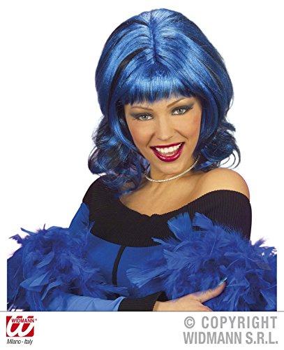Retail Zone Women's Neon Bob Wig Austin Powers 70's Raver Goth Fancy Dress One Size Multi ()