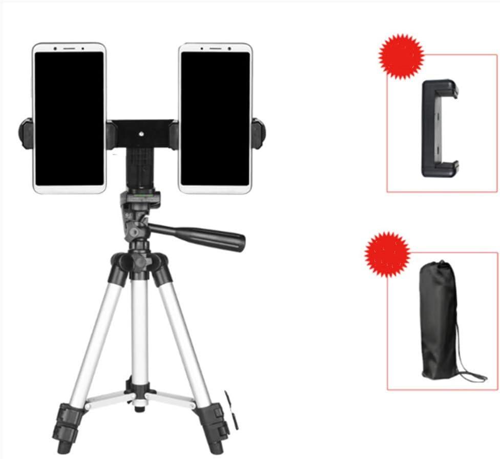 Compact Lightweight Multifunctional Tripod Floor Type Outdoor Portable Tripod 130cm