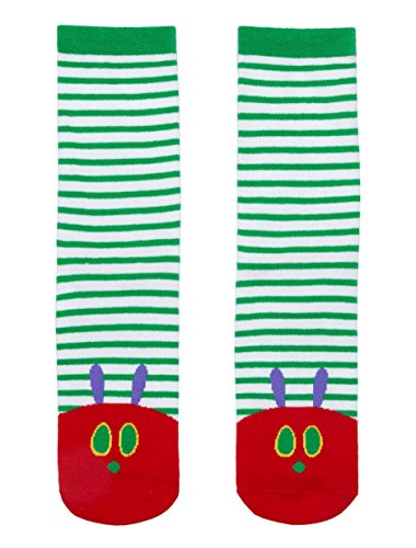Out of Print World of Eric Carle, The Very Hungry Caterpillar Unisex Socks Large -
