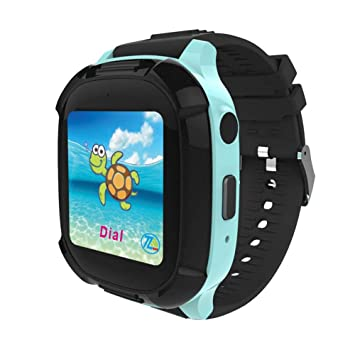 DS58 Kids Smart Watch IP68 Deep Waterproof GPS Tracker ...