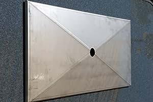 715mm x 330mm Acero Inoxidable Bandeja recoge grasa grasa sobre las miradas/bañera/bañera/goteo–Super para Notebook para su parrilla de gas. (715–330–1)
