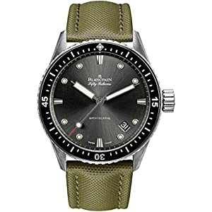 Best Epic Trends 51fo%2Bn%2BDCcL._SS300_ Blancpain Fifty Fathoms Bathyscaphe Automatic 43mm Mens Watch 5000-1110-K52A