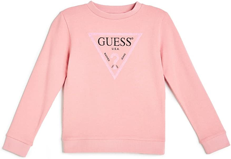 Guess Guess Mädchen LS Activewear_Core Pullover, Pink