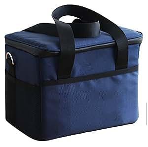 chengjie 10L suave bolsa térmica bolsa para el almuerzo con forro de plástico desmontable, 12Can