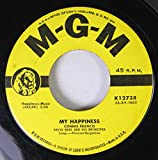 CONNIE FRANCIS 45 RPM My Happiness / Never Before