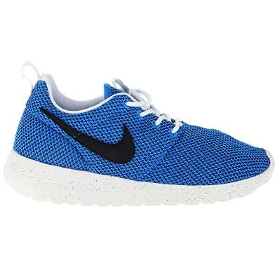 nhgpg Nike Roshe Run GS Blue Kids Trainers Size 4 UK: Amazon.co.uk