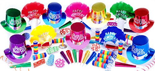 Elite Happy New Year Party Kit for 50 by PTMFG (Image #1)