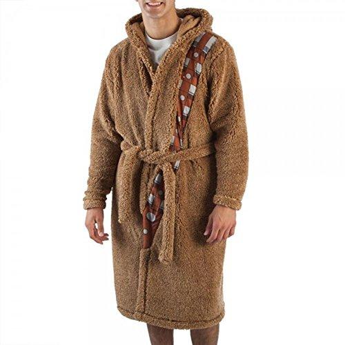 Star Wars Chewbacca Robe (Bioworld Star Wars Chewbacca Sherpa Robe With Sound Chip S/M)