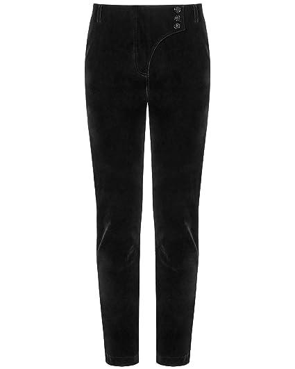 350a420a93 Punk Rave Mens Gothic Pants Trousers Black Velvet Steampunk Vampire  Aristocrat: Amazon.co.uk: Clothing