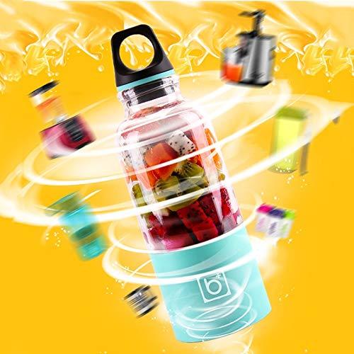 Gano Zen 500ml Portable Juicer Cup USB - Rechargeable Electric Automatic Bingo Vegetables Fruit Juice Tool - Maker Cup Blender - Mixer Bottle by Gano Zen (Image #2)