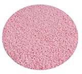 Ballerina Pink - 6' ROUND Custom Carpet Area Rug