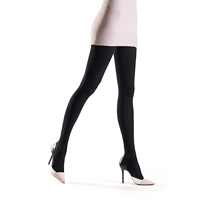 7c5f2051b Oroblu Renee Cable-Knit Cotton Tights  Amazon.co.uk  Clothing