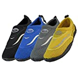 Wholesale Men's Aqua Socks water shoes, beach, pool, swimming, yoga, exercise