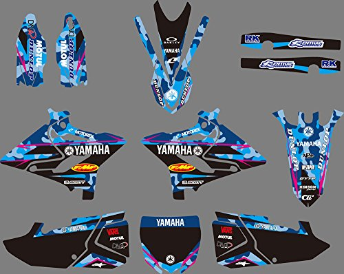 DST0630 Customized 3M Sticker Motorcross Graphic Motorcycle Decals Stickers Kit Graphics set for Yamaha YZ125/YZ250/X 2015 2016 2017 2018 -