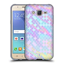 Head Case Designs Holographic Mermaid Scales Soft Gel Case for Samsung Galaxy Grand Prime