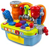 Toy Workshop Playset for Kids with Sounds & Lights...