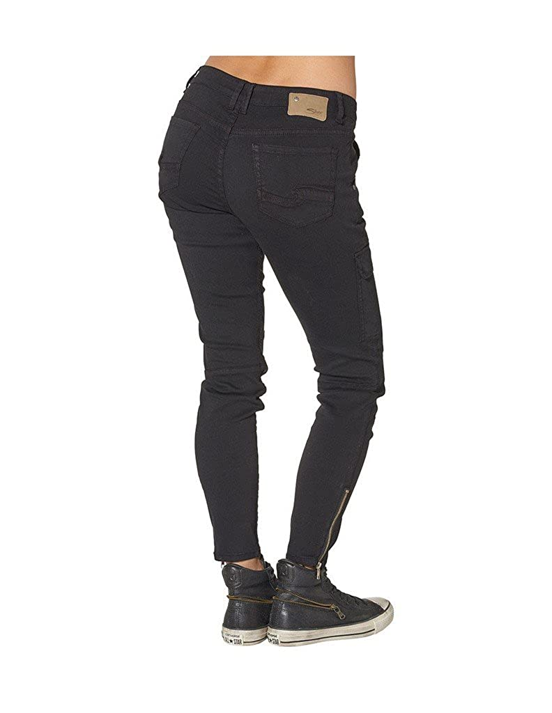 576fad7e Silver Jeans Pants Womens Skinny Cargo 33 x 29 Black L27146STW036:  Amazon.ca: Clothing & Accessories