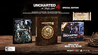 Uncharted 4: A Thief's End Special Edition - PlayStation 4 (B014R4ZZ0E) | Amazon price tracker / tracking, Amazon price history charts, Amazon price watches, Amazon price drop alerts