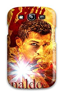 Fashionable FmVbrdp7855CUWKS Galaxy S3 Case Cover For Cristiano Ronaldo Vs Barcelona Protective Case