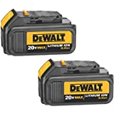 DEWALT DCB200 20-Volt MAX Li-Ion 3.0 Ah Battery 2-Pack with Dewalt Dwht0046 Blades