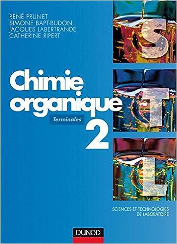 Livre gratuits en ligne Chimie organique - Tome 2 - 2ème édition pdf