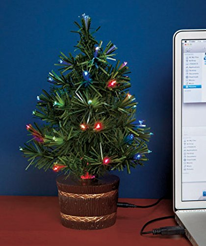 fiber optic usb christmas tree amazoncouk kitchen home