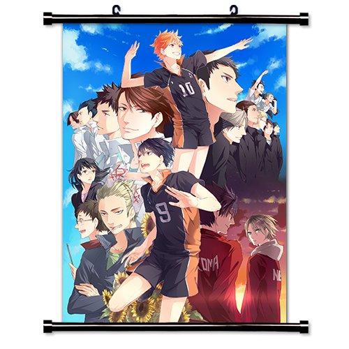 Haikyu!! Anime Fabric Wall Scroll Poster (32x45) Inches. [WP] Haikyu!!-13(L)