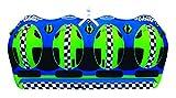 SPORTSSTUFF 53-3040 High Roller 4 Rider Towable