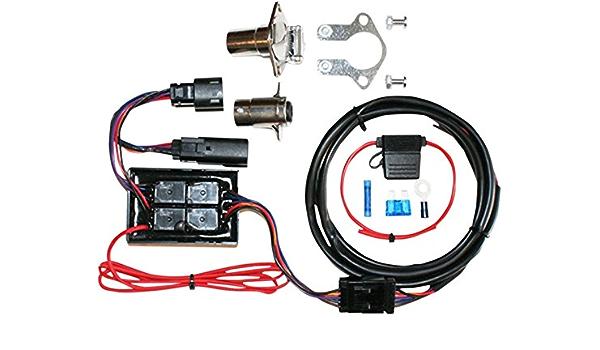 Khrome Werks trailer wiring harness 2014 Harley Touring FLHT FLHR 720751 49-6769