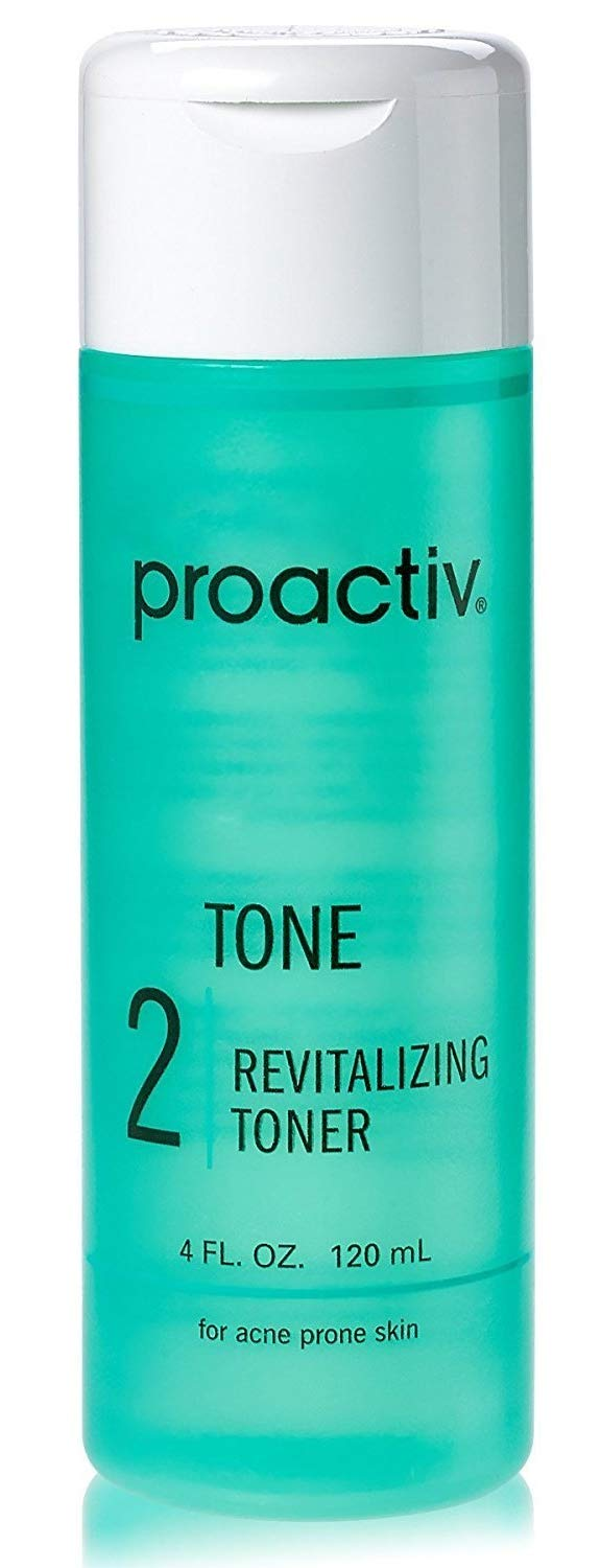 2PC SET Proactive CLEANSE + TONE ( Renewing Cleanser + Revitalizing Toner ) 4fl oz 120mL 60day by Proactiv