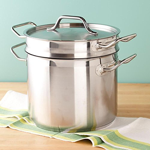 8 Qt. Stainless Steel Clad Double Boiler By TableTop King by TableTop King