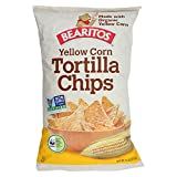 BEARITOS Organic Yellow Corn Tortilla Chips - 16 OZ - CS x12