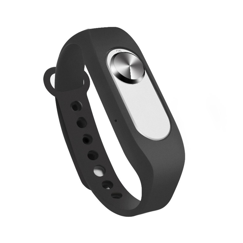 8GB Digital Voice Recorder Wristband Audio Recorder Wrist Watch USB Rechargeable Sound Recording Bracelet Dictaphone for Lecture Meeting Interview Classes
