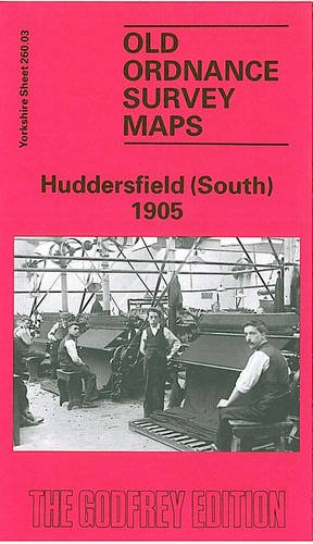 Old Ordnance Survey Maps Huddersfield North Yorkshire 1905 S 246.11 New Map
