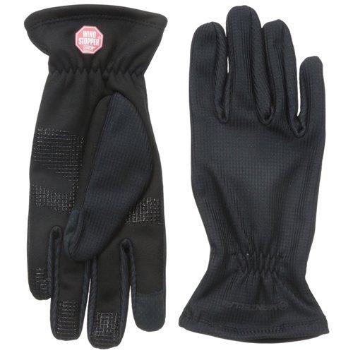 Manzella Women's Silkweight Windstopper Ultra Touch Gloves, Medium, Black