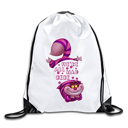 LCNANA Alice In Wonderland Cheshire Cat We Fashion One Size Rope Bag (2)