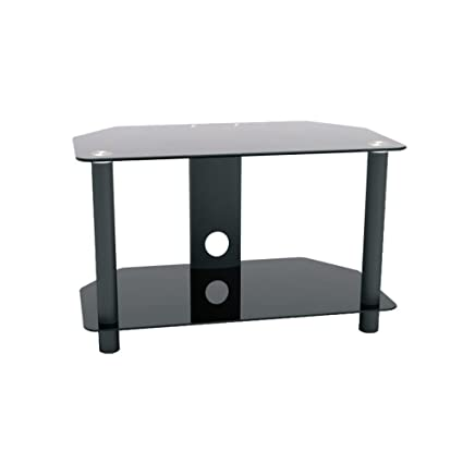 ProHT Glass U0026 Metal TV Stand (05448A) Supports Flat Panel TVs Up To 32