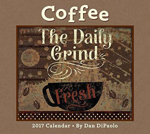 Coffee 2017 Deluxe Wall Calendar