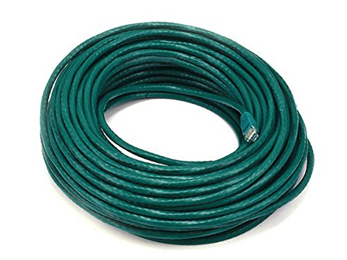 6PC Cat6 24AWG UTP Ethernet Network Patch Cable, 100ft Green by MON001