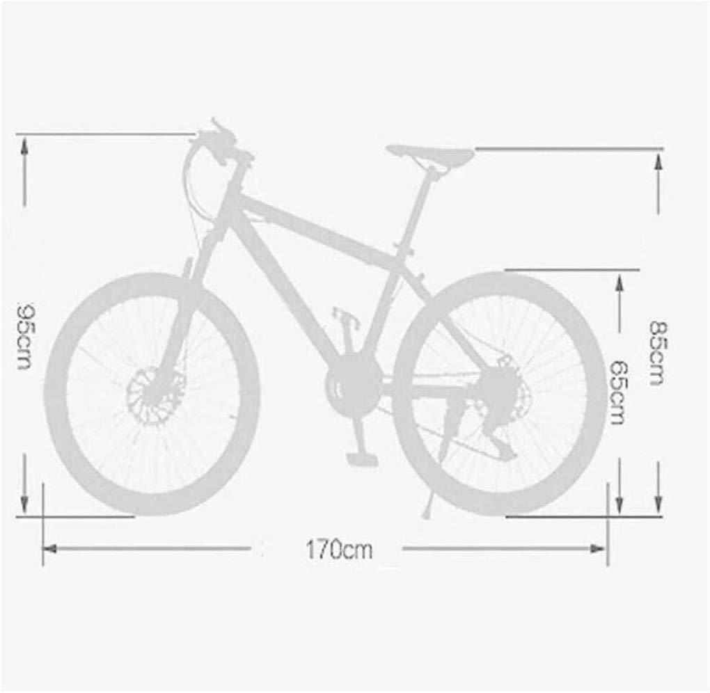 Mountain Bike Folding Bike Unisex Mountain Bike 24//27//30 Speeds 26Inch 6-Spoke Wheels Aluminum Frame Bicycle with Disc Brakes and Suspension Fork