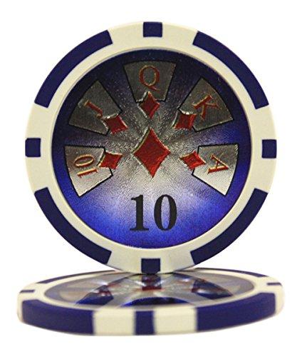 最安値に挑戦! 50 $ 10 High 14 Roller CasinoクレイComposite $ 14 Gram Chips Poker Chips B00XOEBR88, 中城村:d1ab151e --- efichas.com.br