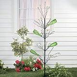 OTC Metal Wine Bottle Fruit Tree w/Branches Indoor/Outdoor