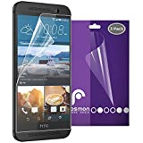 Fosmon® HTC One M9 Screen Protector - Anti-Glare (Matte) [Japan 3H Hard Coating Film] Screen Shield for HTC One M9 2015 - 3 Pack