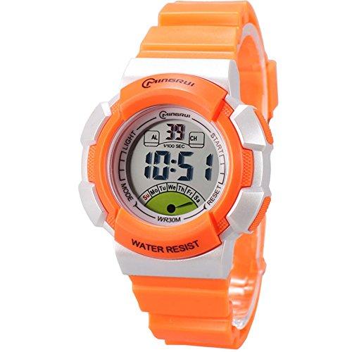 Digital Waterproof Outdoor Sport Watch for Girls by Cogumize