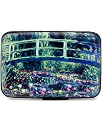 "Credit Card Case (Armor Wallet) ""Bridge at Giverny"" by Monet"