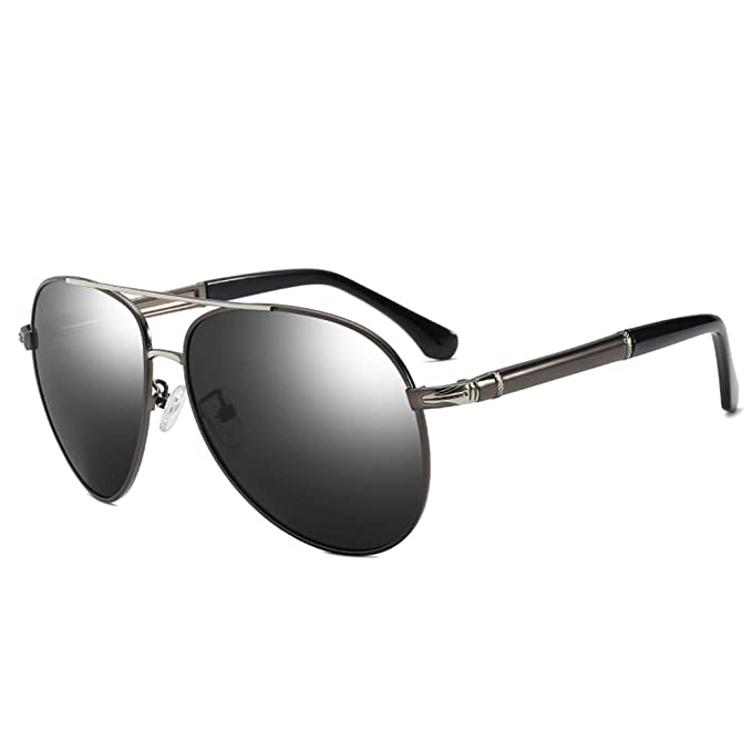 721757675ad2 Polarized Aviator Sunglasses for Men- Qidian QD8738 Fashion Aviator  Sunglasses