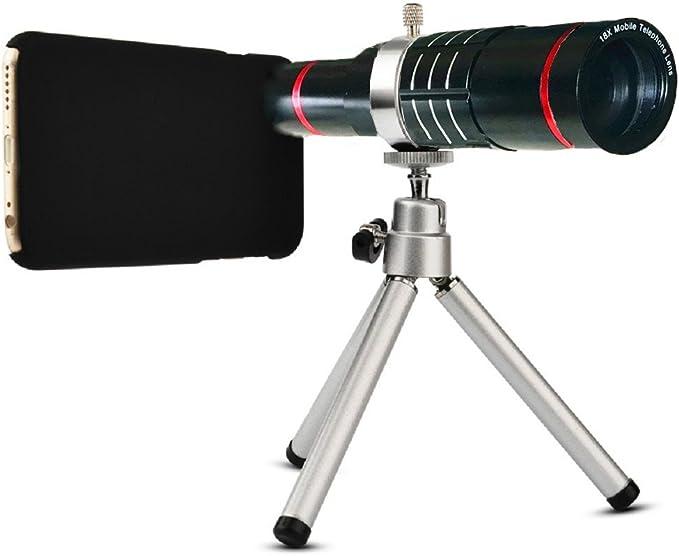 Youniker Kamera Objektiv Kit Für Samsung Galaxy S8 Plus 18 X Manueller Fokus Teleobjektiv Für Samsung