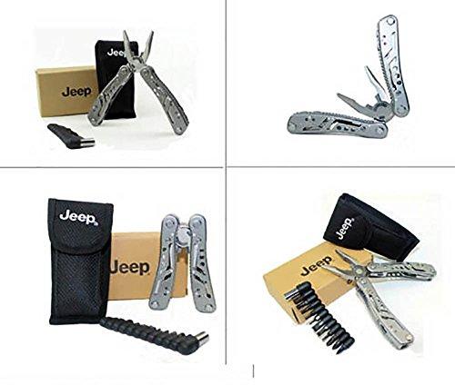 Jeep al aire libre Multi herramientas destornillador alicates cuchillo acero inoxidable camping Deportes al aire libre EDC herramientas OEM envío gratuito: ...