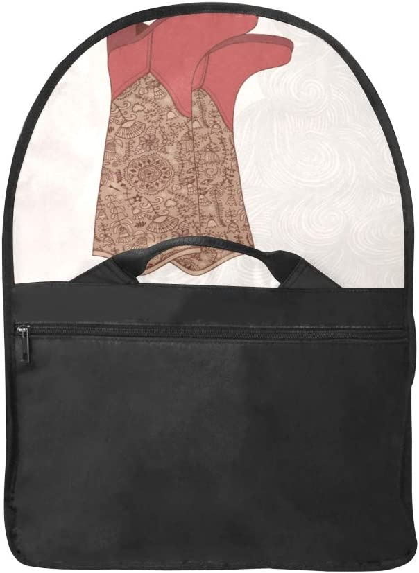 Laptop Slim Briefcase Beautiful Vintage Boot Multi-Functional Satchel Handbag for Women Fit for 15 Inch Computer Notebook MacBook