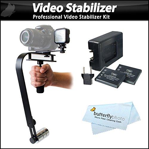 Professional Digital Slr Camera Stabilizer With Led Light Set